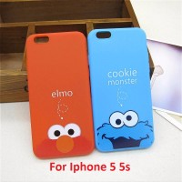 IPhone 5 5s iPhone5 Elmo Cookie Monster Silicone Soft Case Softcase
