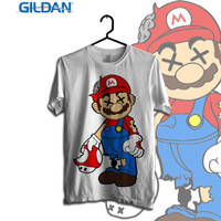 X Mario Cartoon Series Original Gildan