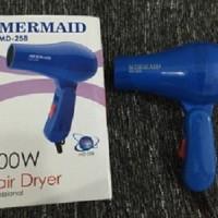 Jual Hairdrayer Pengering rambut mini Mermaid MD-258 Hair Dryer Hairdryer Murah