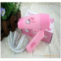Jual Hair Dryer Mini Hello Kitty Pengering rambut Hairdrayer Hairdryer Murah