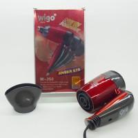 Jual Hair Dryer Wigo mini W-350 Pengering rambut Hairdrayer Hairdryer Murah