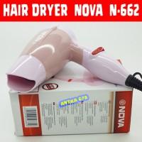 Jual Hair Dryer NOVA N-662 Hairdryer Pengering rambut Hairdrayer mini Murah