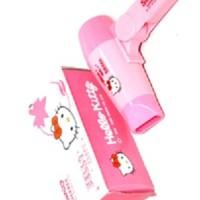 Jual Pengering rambut Mini Hello Kitty Hairdryer Hair Dryer Hairdrayer Murah