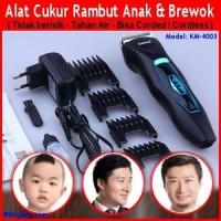 Jual MESIN CUKUR RAMBUT Kemei KM-3006 Hair Clipper Pencukur pemotong alat Murah
