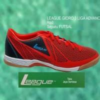 Sepatu Futsal LEAGUE GIORO 3 LIGA ADVANCE red Murah
