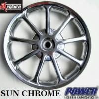 harga velg power sun chrome untuk motor vario 110 dan xeon Tokopedia.com