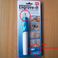 Jual Engrave It Pen Alat Ukir Elektrik mengukir memahat laptop gelas kaca Murah