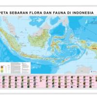 Jual Peta Sebaran Flora Dan Fauna Kota Tangerang Cv Sirnabayamandirancan Tokopedia