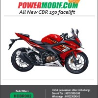 Decals Honda All New CBR 150 Facelift