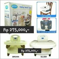 Jual PLIKO FOLDING BOOSTER SEAT-KURSI MAKAN BAYI-BABY HIGH CHAIR 100% ORI Murah