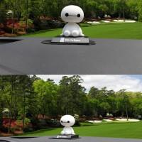 Jual Yinz Boneka Mobil Cute Baymax Shaking Head Dashboard Mobil Murah