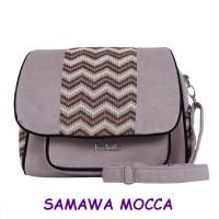SAMAWA MOCCA Fadzila Tas Wanita Handmade Selempang Cantik Branded