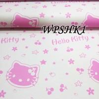 WALLPAPER STICKER 45CMX5M-WPSHK1-PINK HELLO KITTY