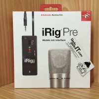 IK Multimedia iRig PRE Mic/Microphone Interface For Apple iOS &Android