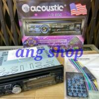 Car DVD Player USB Acoustic AC 305 AC305 Tape Mobil Head Unit 4x100W