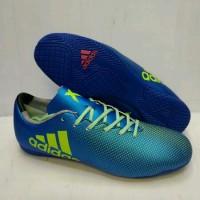 Sepatu Futsal Adidas X.16 Biru-Stabilo Grade Ori