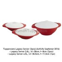 Tupperware Legacy Server (3pcs)(Activity September 2016 Diskon