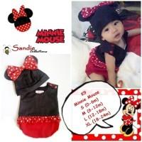 Jual Baju Bayi Lucu Kostum Minnie Mouse Murah