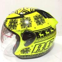 Grosir helm NHK R6 Rossi WINTER