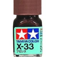 Tamiya Enamel Paint X-33 Bronze 10ml [80033]