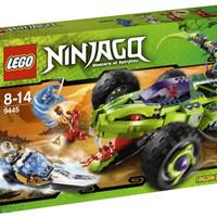 Toys LEGO Ninjago Fangpyre Truck Ambush 9445