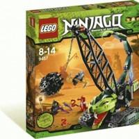 Toys LEGO Ninjago Fangpyre Wrecking Ball 9457