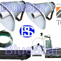 Paket Sound System TOA ZH 625 S Outdoor / indoor