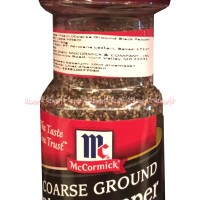 McCormick Black Pepper Coarse Ground Blackpeper Bubuk Lada Hitam Meck