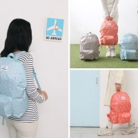 Jual Korean Weekeight Folding Backpack / Tas Punggung / Tas Lipat Korea Murah