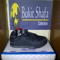 Sepatu Sekolah & Olahraga Anak, Finotti Viper, Hitam Abu