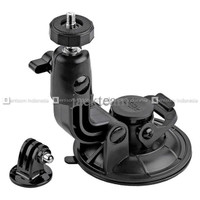 Action Cam Suction Cup 9cm With Tripod Mount & Knob Screw For Sj4000/s