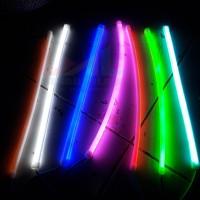 LED DRL Flexible 30CM Lampu Alis neon Motor Mobil Murah Meriah !!!