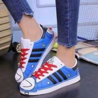 sepatu kets doraemon murah / sneakers karakter doraemon