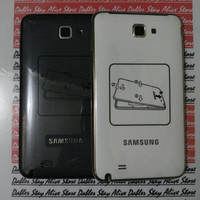 Casing Samsung Note 1 GT- N7000/Samsung i9220 Hitam/Putih