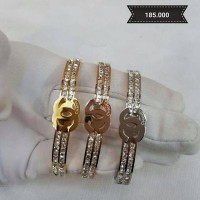 Bangle - Channel diamonds list bangle