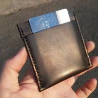 Custom Card Case / Handmade Card Holder / Tempat Kartu Kulit