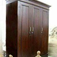 lemari pakaian jati (Furniture,kursi tamu,lemari, bufet,meja makan)