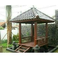 gazebo kayu kelapa (Furniture,kursi tamu,lemari, bufet,meja makan)