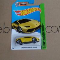 Hot Wheels Lamborghini Huracan Lp 610-4