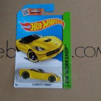Hot Wheels 14 Corvette Stingray Kuning