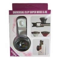 Jual Lensa Super Wide Universal Clip Superwide 0,4 X Iphne Samsung Sma