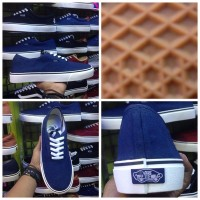 Sepatu Vans Authentic Blue (Vans USA, Sepatu Vans, Vans Biru)