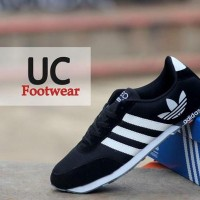 Sepatu NEW Adidas Neo City Racer Black