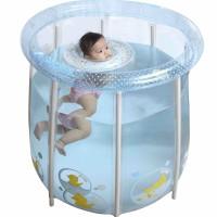 Swimava P2 Compact Baby Pool Home Spa With Hand Pump