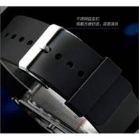 Silicon LED Watch Tahan Air 30m, Jam Tangan Pria LED Gelang