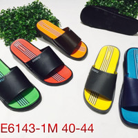E6143warna Sandal Pria Luofu Sendal Slop Karet Import