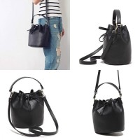 New PULL AND BEAR leather bucket bag original