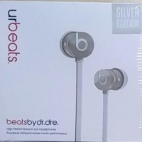 Earphones Urbeats with CT (OEM A++) Silver Edition [Berkualitas]