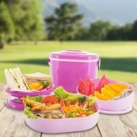 Picnic Hamper - Set Rantang Tingkat Kualitas tupperware