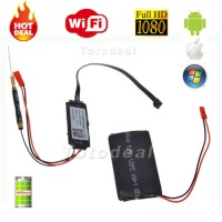 DIY Module Wifi IP Wireless Spy Camera Hidden Security For Android iOS